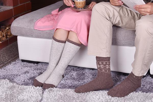 厚手のルームソックス、毎日履きたい暖かさ